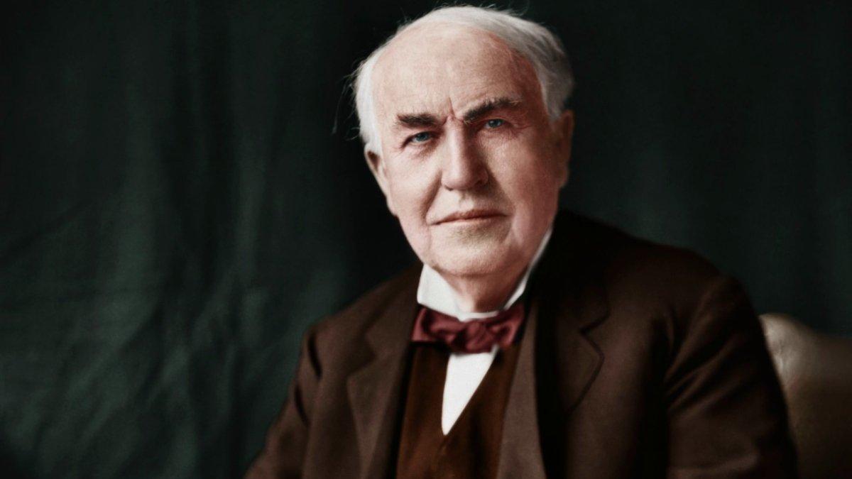 -Thomas Alva Edison-